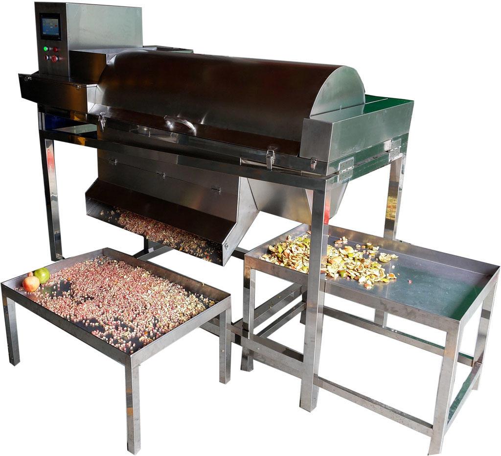 百香果浆籽分离线 自动百香果挖汁机 西潘莲取汁机