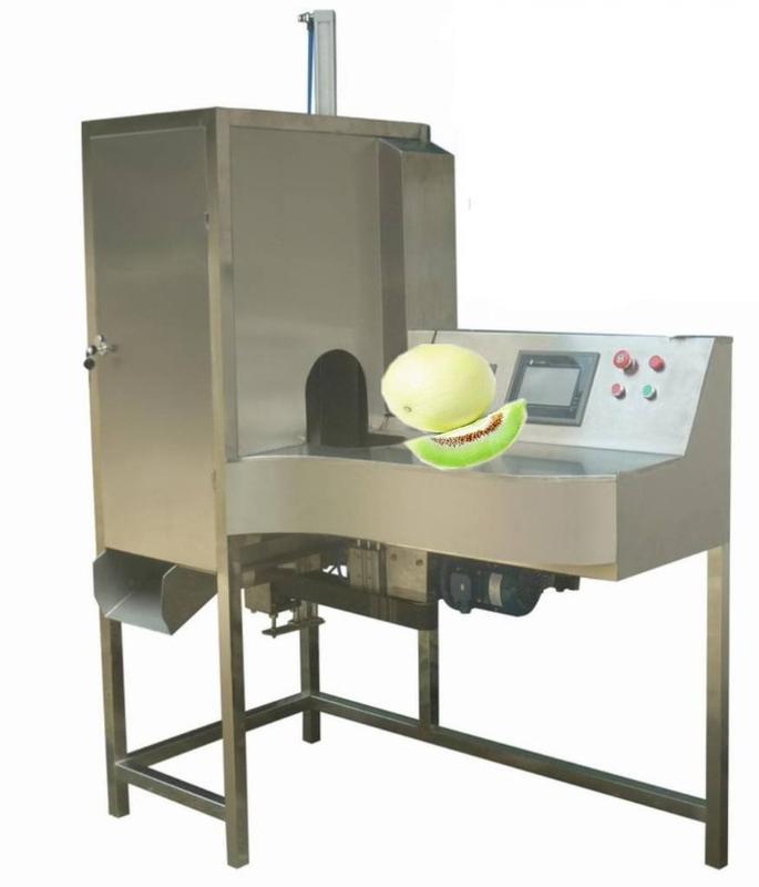 白兰瓜削皮机 白兰瓜去皮机 白兰瓜加工设备