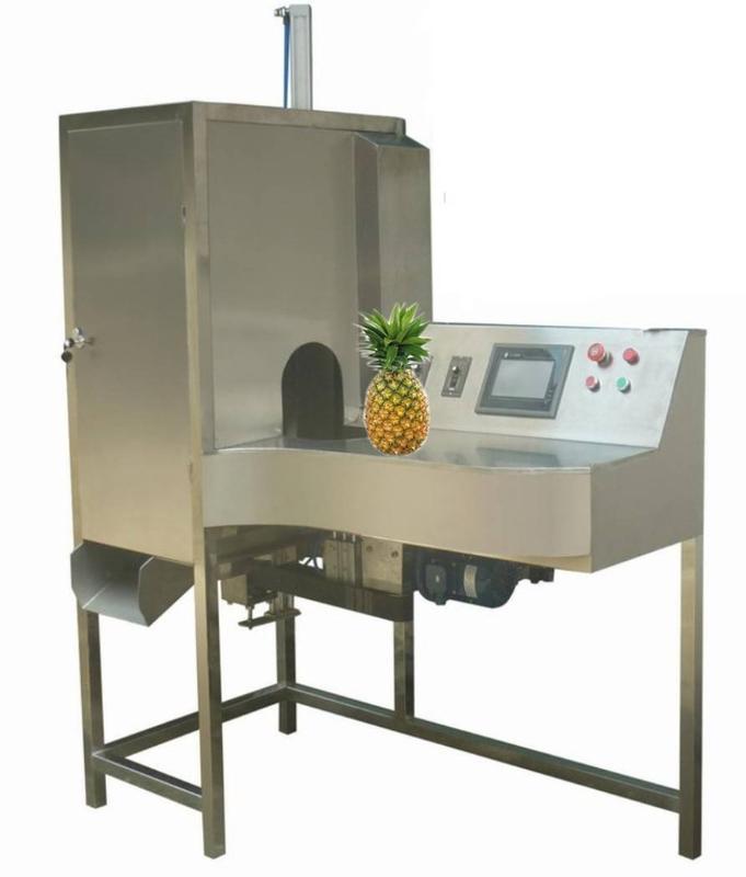 达桥供应菠萝削皮机  菠萝去皮机  菠萝加工设备