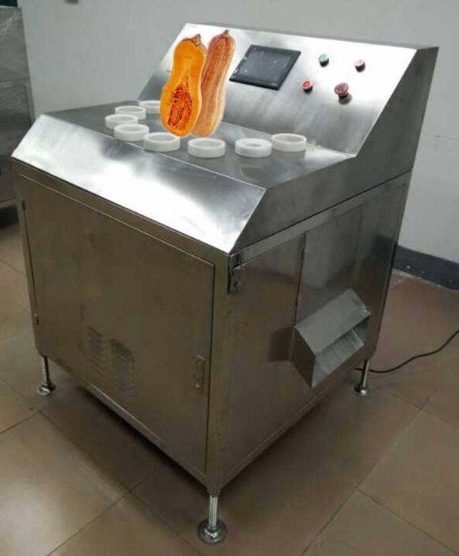 厂家供应南瓜切片机,秒切16片,片片正圆,南瓜加工设备