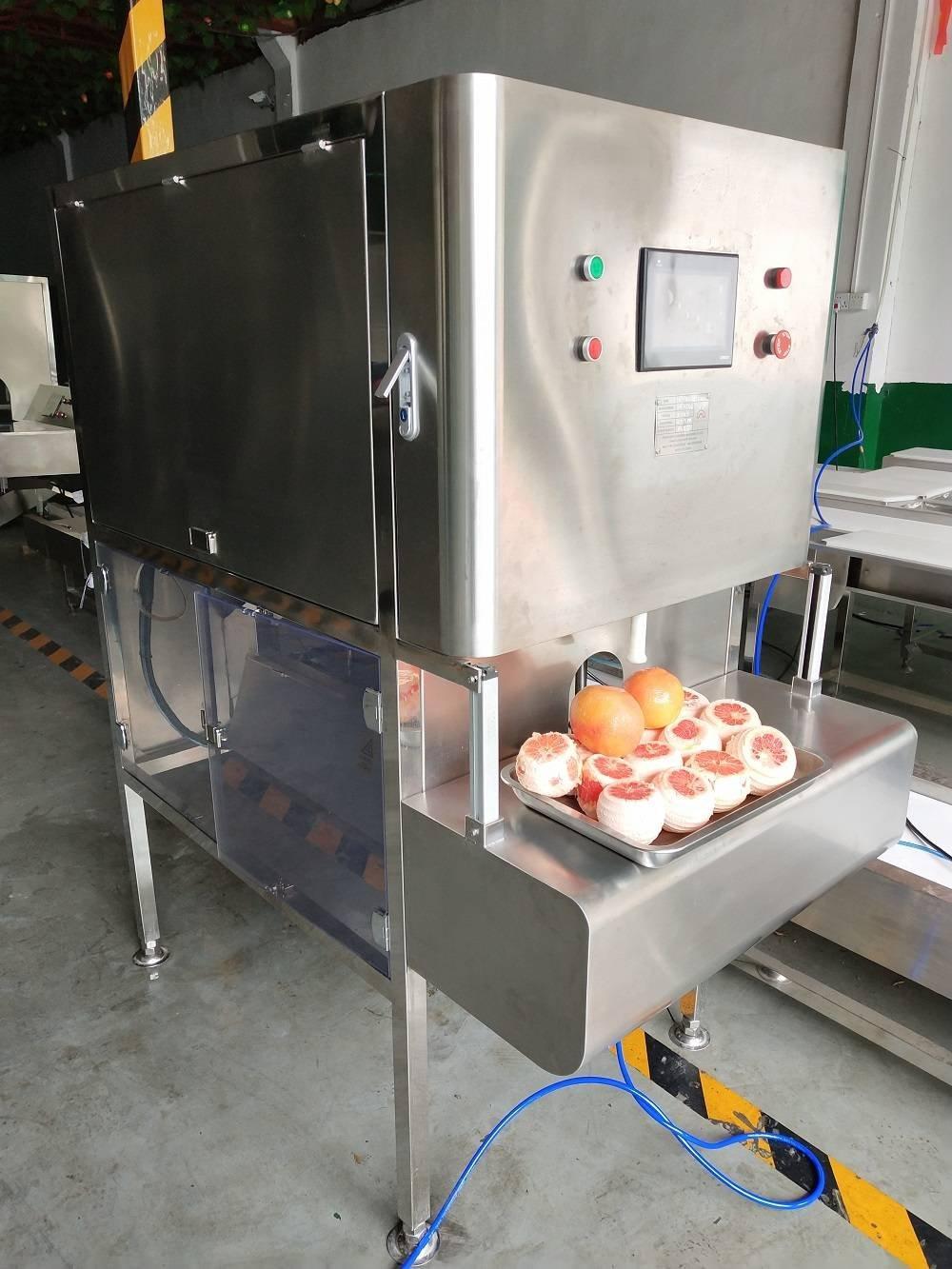 厂家供应智能西柚去皮机,西柚剥皮机,西柚削皮机,常山柚/葡萄柚削皮加工设备