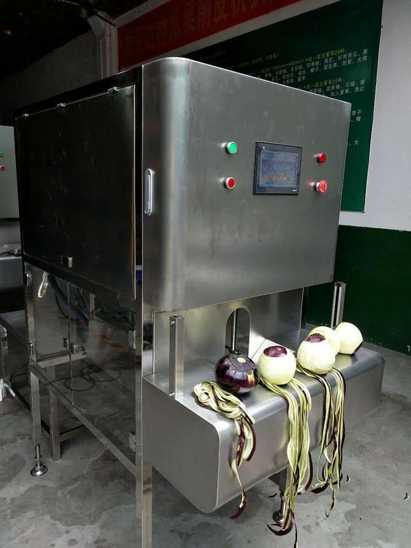 球形茄子削皮机,茄子去皮机,茄子剥皮机,茄子去皮加工设备