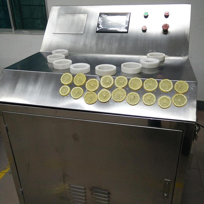 工业型柠檬切片机 - 秒切16片,代替30人,片片正圆