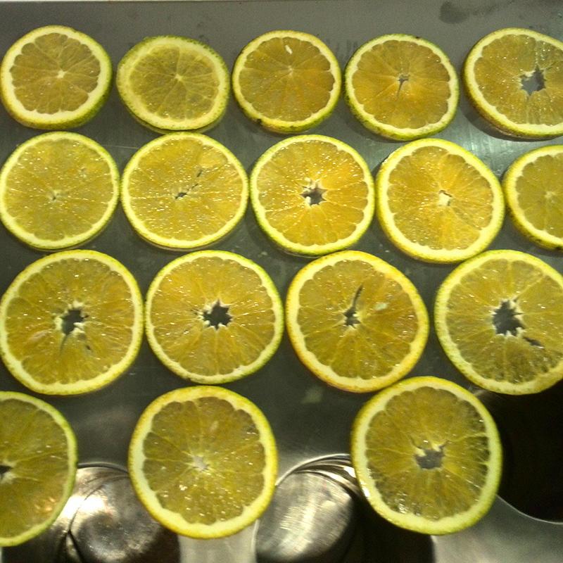橙子削皮机 - 代替15人,削出果肉+橙皮